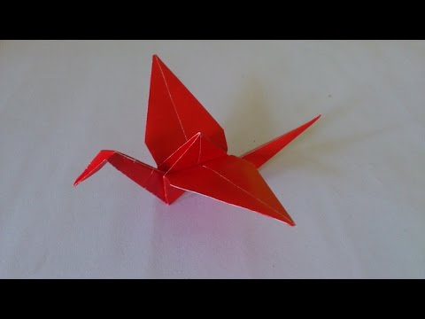 Cara Membuat Origami Stork | Origami Bird | Origami Animals