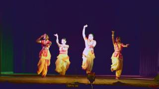 dance  drama based on rabindra sangeet