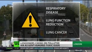 Smoggy London: Air pollution hits new high as UK govt ignores toxic issue
