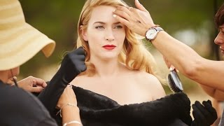 KATE WINSLET and Liam Hemsworth in The Dressmaker Behind the Scenes 2016 Movie