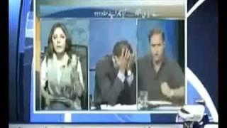 Pakistani Politicians Fight (Short Package)