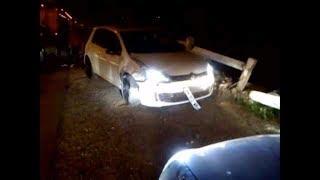 حبيب_هيمون ينجو من حادث مرور مروع بوهران