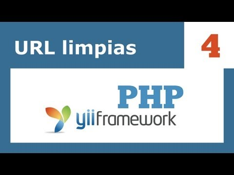 Yii Framework PHP - 4: Url limpias