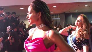 Andrea Tovar en la Alfombra Roja del Governors Ball - Cena de Bienvenida
