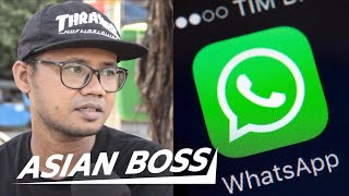 Indonesians React to Government WhatsApp Spying | ASIAN BOSS