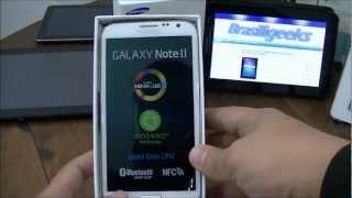 Samsung Galaxy Note II - Unboxing e primeiras impressões