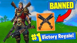 EPIC IS BANNING This Fortnite Strategy!