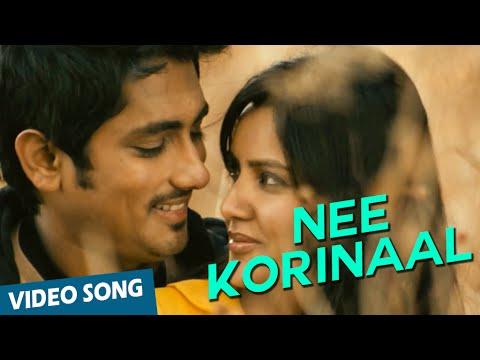 Nee Korinaal Official Video Song   180   Siddharth   Priya Anand