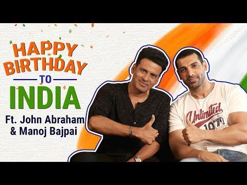 Xxx Mp4 Happy Birthday To India Ft John Abraham And Manoj Bajpai Pinkvilla Satyameva Jayate 3gp Sex