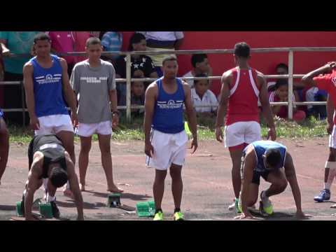 100m Finals Boys - Tonga Inter-Collegiate Athletics