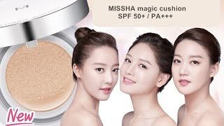 Foundation Demo & Review: MISSHA M Magic Cushion Compact BB Cream spf50