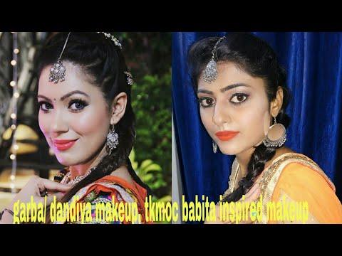 Xxx Mp4 Navratri Garba Dandiya Festive Makeup Look Tkmoc Babita Munmum Datta Inspired Makeup 3gp Sex