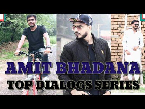 Xxx Mp4 AMIT BHADANA TOP 12 DIALOGS GAJAB STYLE BEST COMEDY VIDEO AMIT BHADANA NEW VIDEO IN HD 3gp Sex