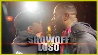 SHOWOFF VS LOSO RAP BATTLE - RBE