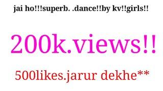 Kv ballia amazing dance.....jai ho