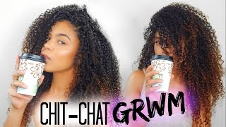 Chit Chat GRWM | Life Update, Weight Gain & I'm Crying?!