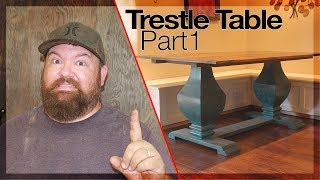 HOW TO BUILD Trestle Table PART 1