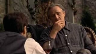 El Padrino I. Conversación entre Vito y Michael.