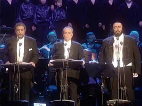"The Three Tenors - Wiegenlied ""Strauss"" - (Christmas - Vienna 1999)"