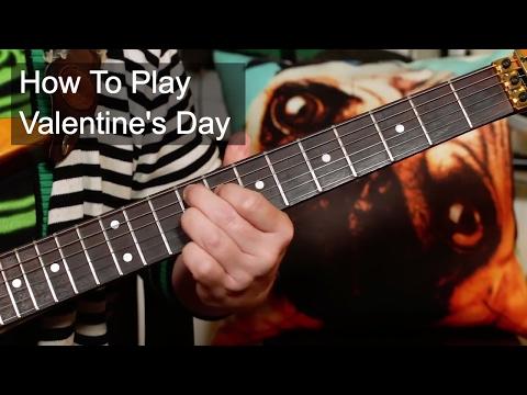 'Valentine's Day' David Bowie Guitar Lesson