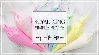Royal Icing Recipe for Sugar Cookie Decorating - Sugar Cookie Decorating for Beginners