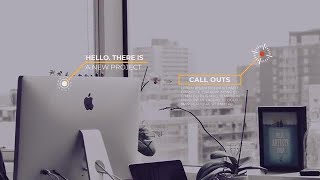 Modern Callout Titles After Effects Templates