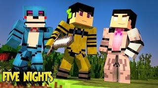 Minecraft: FIVE NIGHTS AT FREDDY's MORPH - ESCONDE ESCONDE! (Mod) ‹ AM3NIC ›