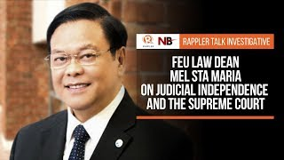 Rappler Talk: Mel Sta Maria on judicial independence and the Supreme Court