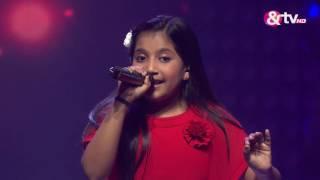 Shreya Basu - Tere Bina Jiya Jaaye Na - Liveshows - Episode 20 - The Voice India Kids