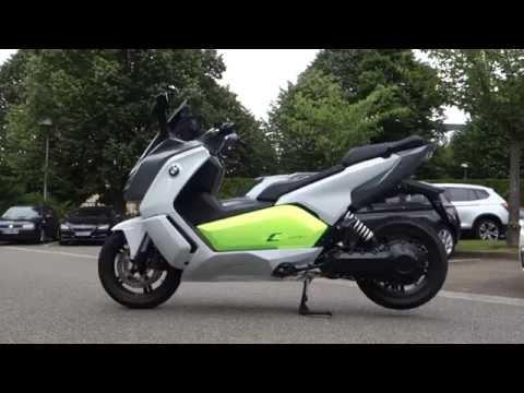BMW scooter électrique C evolution ESSAI MAXreportage