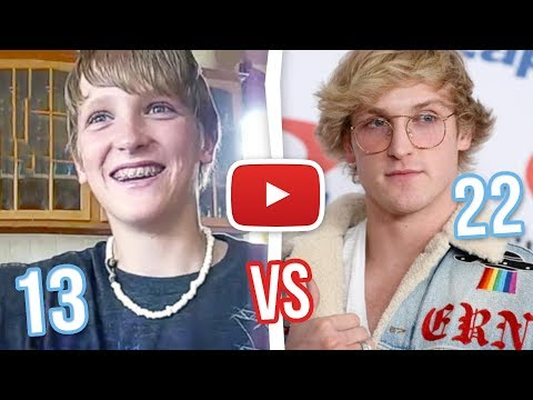 Xxx Mp4 Logan Paul OLDEST VS CURRENT Youtube Videos 13 Years Old 3gp Sex