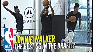 Lonnie Walker NBA Pre-Draft Workout! The Best SG In The Draft!? CRAZY Athletic w/ NBA Range!