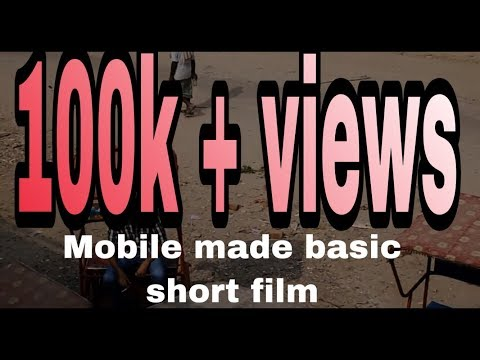 hindi action short film shoot by mobile phone
