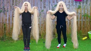 Download Long Hair,  pretend play funny videos for kids, les boys tv