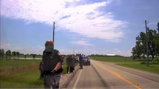 Dashcam Footage of murder suspect Roy Owens Jr. arrest.
