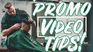 5 TIPS FOR MAKING PROMOTIONAL VIDEOS