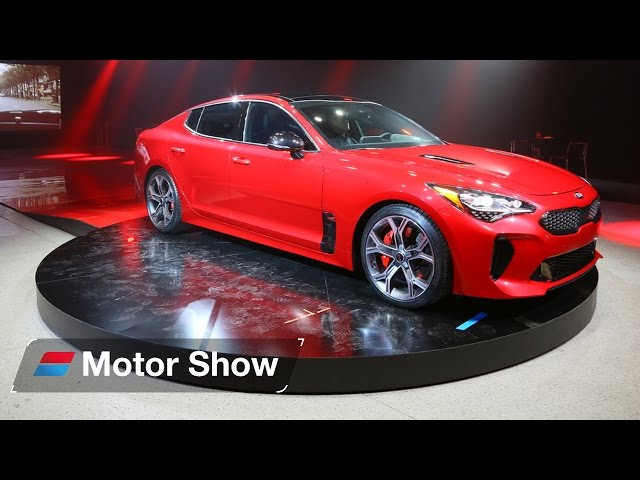 2017 Kia Stinger GT – First Look at the Detroit Motor Show