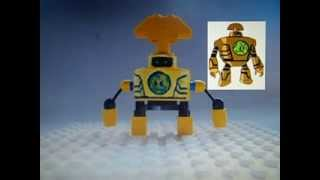 Custom Ben 10 Lego figures (5th video)