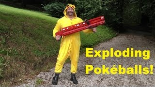 The Pikachu Hunter Pumpgun (Pokémon Go For Real)