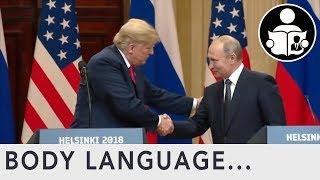 Body Language: Trump and Putin Meeting in Helsinki