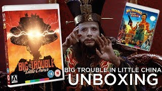 Big Trouble In Little China Blu-ray Unboxing! - Arrow Video