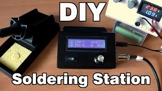 How to make a Soldering Station DIY