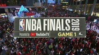 2019 NBA Finals: Game 1 Intro | GSW vs TOR | NBA on ABC