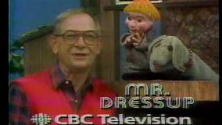 Mr Dressup and CBC promos 1980s