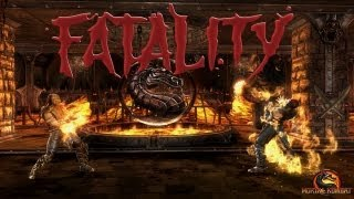 Mortal Kombat 9: Todas las Fatalities (Incluidos Goro, Kintaro, Shao Kahn + DLC) - Español - PC - HD