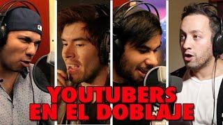 Cómo se oyen Youtubers en doblaje? EraDeHielo, Pets y TortugasNinja