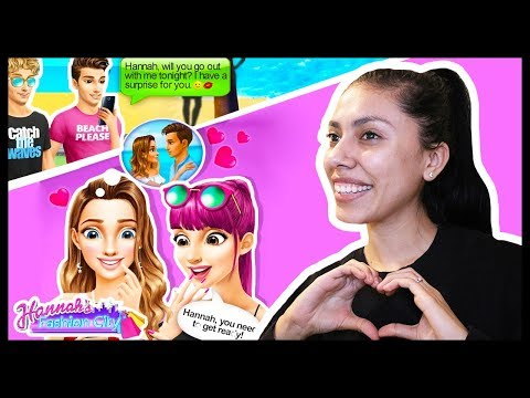 Xxx Mp4 HANNAH S PERFECT DATE Hannah S Fashion City High School Love Story App Game 3gp Sex