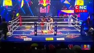 Moeun Sokhuch vs Rong Napha (Thai) CNC Khmer boxing 01/12/2018