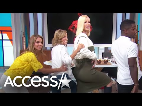 Xxx Mp4 Iggy Azalea Gives A Twerking Tutorial Spills Details About Guys Sliding Into Her DM S Access 3gp Sex