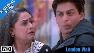 London Visit - Emotional Scene - Kabhi Khushi Kabhie Gham - Shahrukh Khan, Amitabh Bachchan